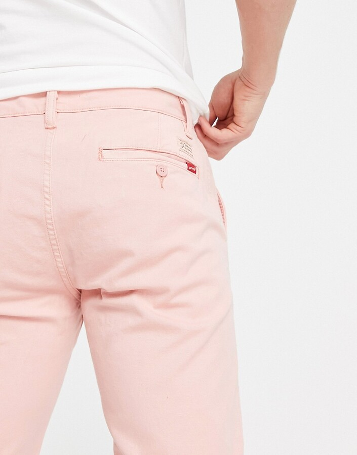 Thumbnail for your product : Levi's chino trousers in pink