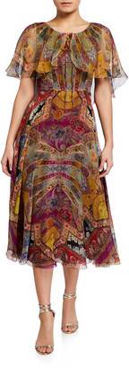 Etro Stained Glass Silk Dress