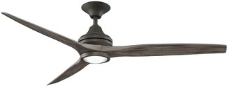 "Pottery Barn 60"" Spitfire Indoor/Outdoor Ceiling Fan, Greige"