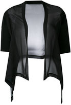 D-Exterior D.Exterior - sheer cardigan - women - Silk/Polyester/Viscose - M
