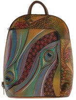Anuschka Women's Sling-Over Travel Backpack