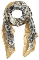 Vince Camuto Tapestry Print Scarf