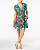 Lauren Ralph Lauren Rainforest Tropical-Print Farrah Dress Coverup