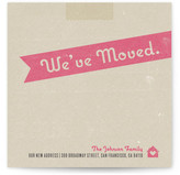 Minted Moving Box Moving Announcements