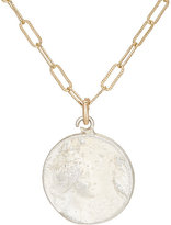 Julie Wolfe Women's Coin Pendant Necklace