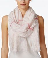 Steve Madden Coastal Crosshatch Day Wrap & Scarf in One