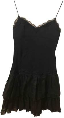 Manoush Black Cotton Dress for Women