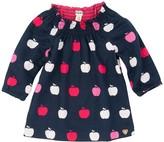 Hatley Nordic Apples Smock Neck Dress (Baby Girls)