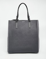 Calvin Klein North South Tote Bag With Small Pouch