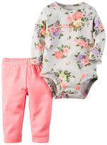 Carter's 2-Piece Bodysuit & Neon Pant Set