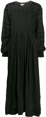 Etoile Isabel Marant pleated cinched waist dress