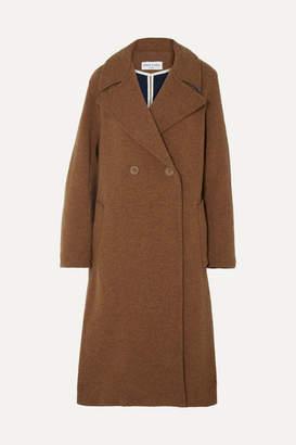 Sonia Rykiel Oversized Convertible Wool Coat - Camel