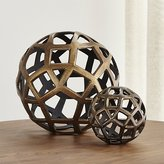 Crate & Barrel Geo Decorative Metal Balls