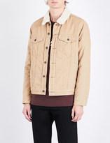 Levi's The Trucker sherpa-lined corduroy jacket