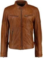 Gipsy Marc Lakev Leather Jacket Wiskey