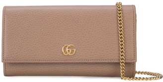 Gucci Marmont continental chain wallet