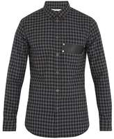 Givenchy Checked Cotton-flannel Shirt
