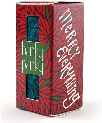 Hanky Panky Merry Everything Boxed Low-Rise Lace Thong