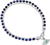 Astley Clarke Evil Eye sterling silver friendship bracelet