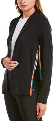 Terez Rainbow Tape Slit Hoodie