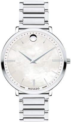 Movado 35mm Ultra Slim Bracelet Watch