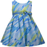 Bonnie Jean Sleeveless Pattern A-Line Dress - Baby Girls