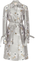 Brock Collection Caia Escapade Silk Blend Coat