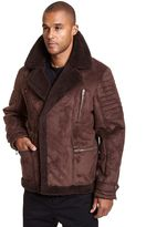 Mens Faux Shearling Jacket - ShopStyle