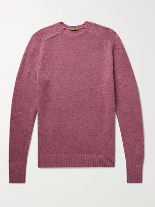 Sid Mashburn Melange Wool Sweater