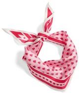Echo Women's Strawberry Print Silk Scarf
