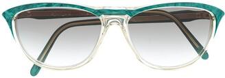 Yves Saint Laurent Pre-Owned 1990s D-frame sunglasses