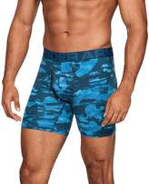 """Under Armour Men's Charged Cotton 6"""" Boxerjock Novelty 3-Pack"""