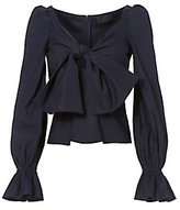 Exclusive for Intermix Maya Bow Front Top