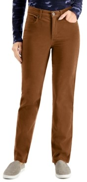 Style&Co. Style & Co Natural Straight-Leg Jeans, Created For Macy's