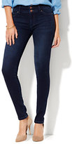 New York & Co. Soho Jeans - High-Waist SuperStretch Legging - Endless Blue Wash - Tall