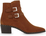 The Kooples Studded suede ankle boots
