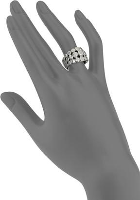 John Hardy Dot Sterling Silver 3-Row Ring