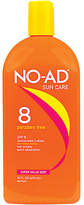 NO-AD Protective Tanning Lotion, SPF 8