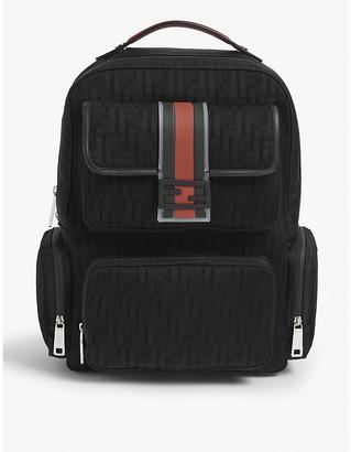 Fendi FF woven backpack