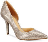MICHAEL Michael Kors Nathalie High d'Orsay Pumps