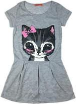 Funkyberry Cotton Cat Dress