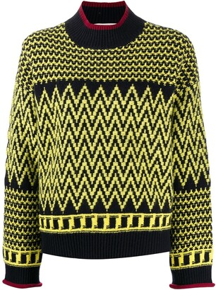 Stella McCartney Intarsia-Knit Jumper