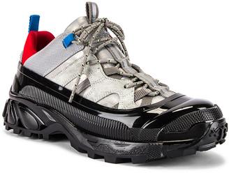 Burberry Arthur Sneaker in Grey Blue | FWRD