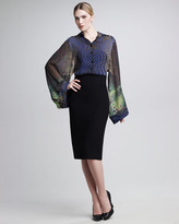 Jean Paul Gaultier High-Waist Pencil Skirt