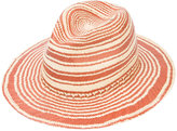 Rag & Bone striped panama hat - women - Straw - S/M