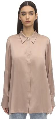 Marina Rinaldi Silk Satin Shirt
