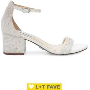 Betsey Johnson Mari Embellished Sandals