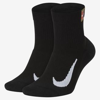 Nike Tennis Ankle Socks (2 Pairs) NikeCourt Multiplier Max