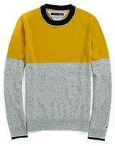 Tommy Hilfiger Men's Colorblock Crew Neck Sweater