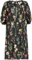 N°21 N21 Printed Silk Dress with Embellishment
